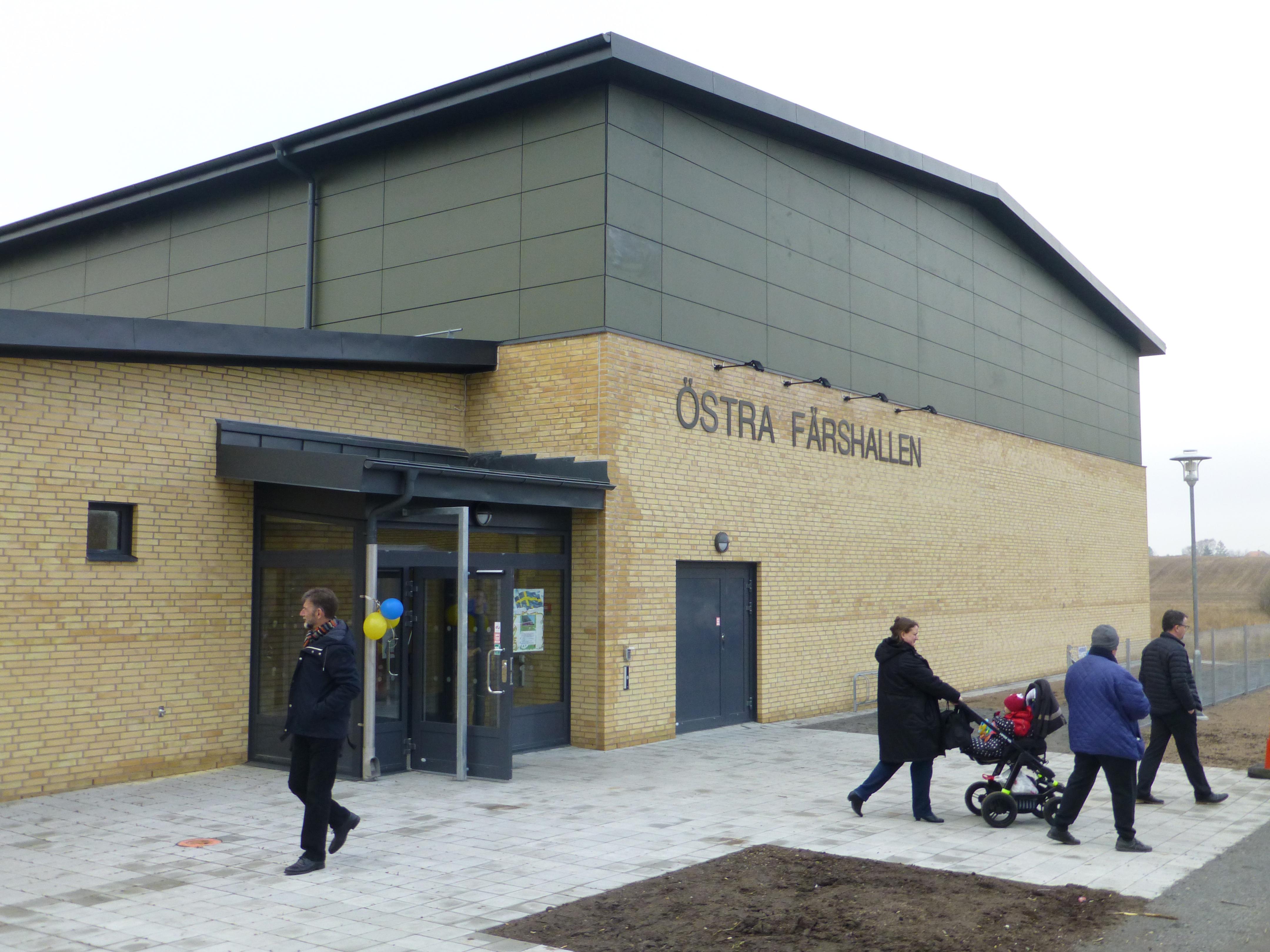 Invigning av Lövestad Skola