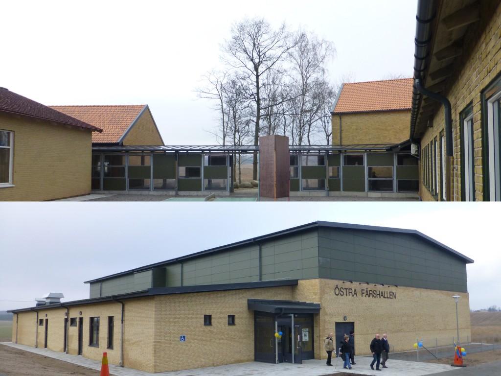 Lövestad Skola- Östra Färshallen