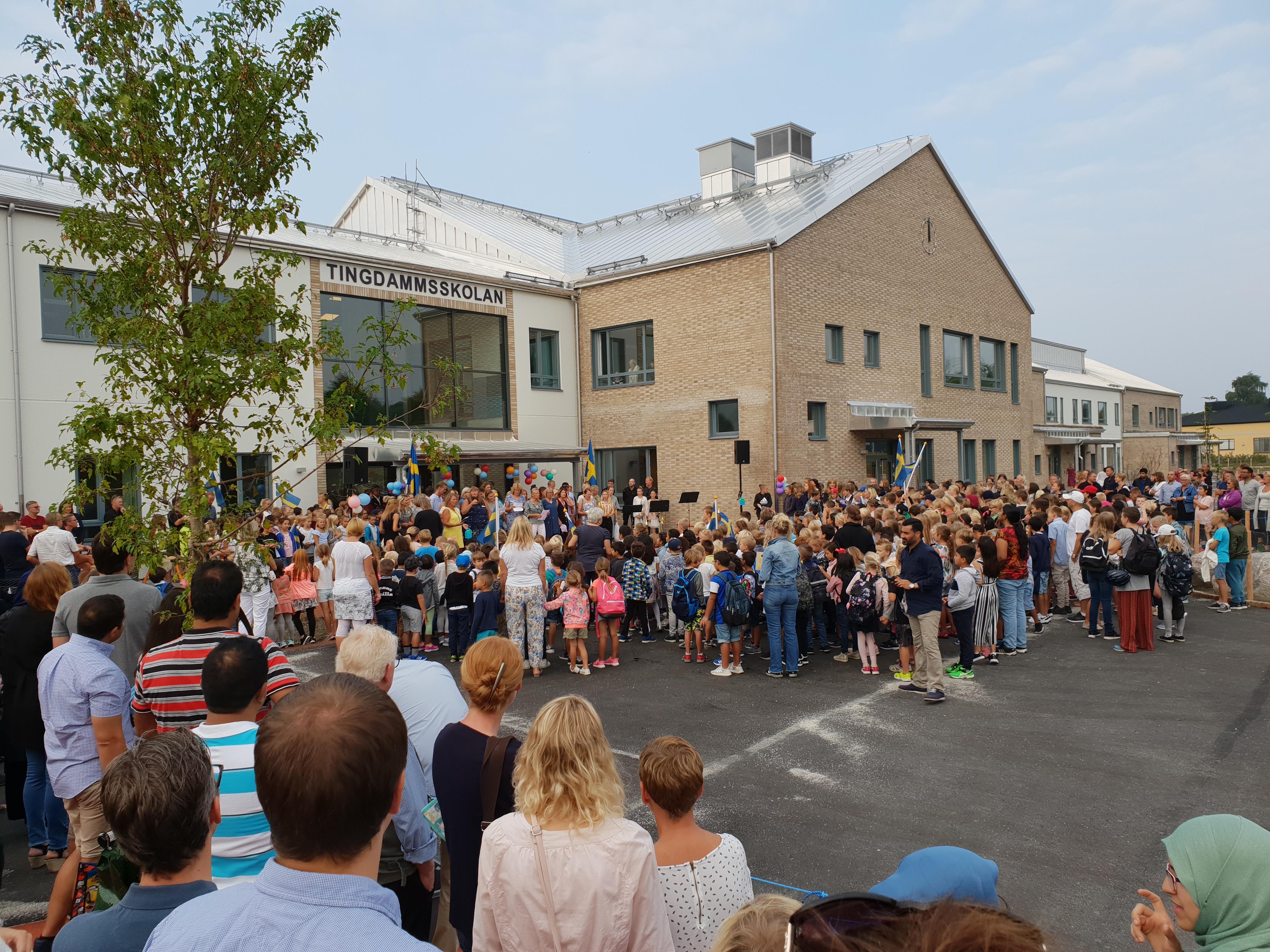 Invigning av Tingdammskolan